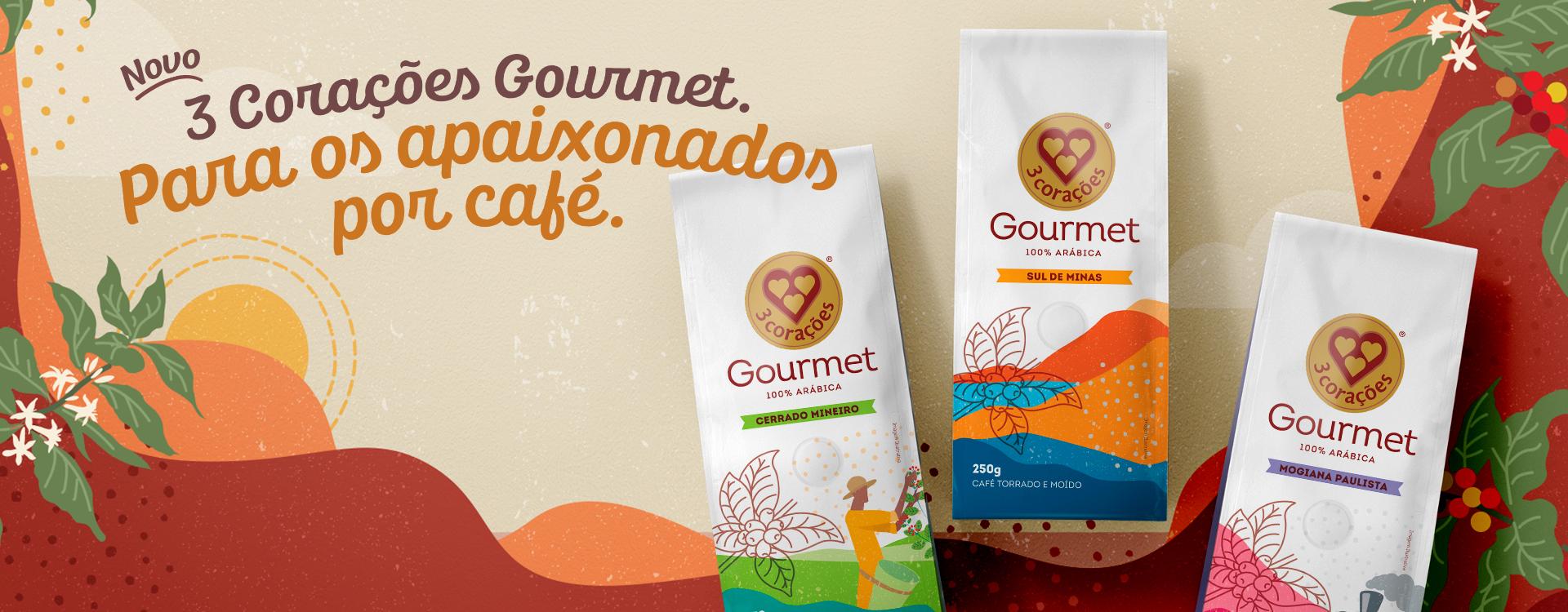 Café 3 Corações - Gourmet